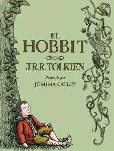 El Hobbit ilustrado por Jemima Carlin