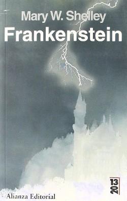 Portada de Frankenstein o el moderno Prometeo