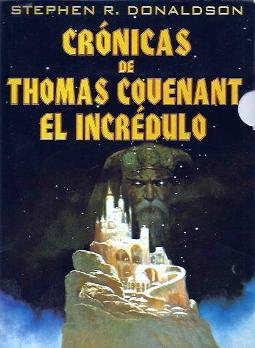 Portada de Crónicas de Thomas Covenant