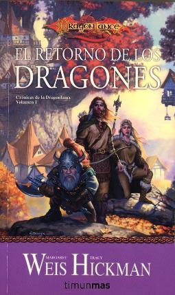 Portada de El retorno de los dragones