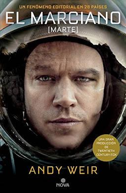 Portada de El marciano
