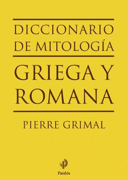 Portada de Diccionario Mitología Pierre Grimal
