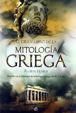 Portada de El Gran Libro de la Mitología Griega