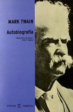 Portada de Autobiografía Mark Twain