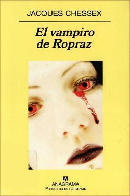 Portada de El vampiro de Ropraz