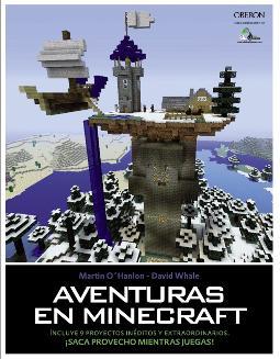 Portada de Aventuras en Minecraft