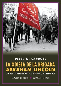 Portada de La odisea de la Brigada Abraham Lincoln
