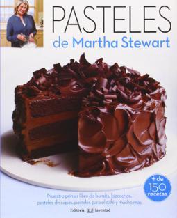 Portada de Pasteles de Martha Stewart