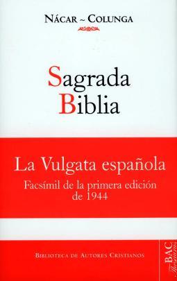 Sagrada Biblia versión directa de las lenguas originales