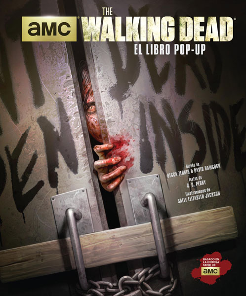 The Walking Dead libro pop-up