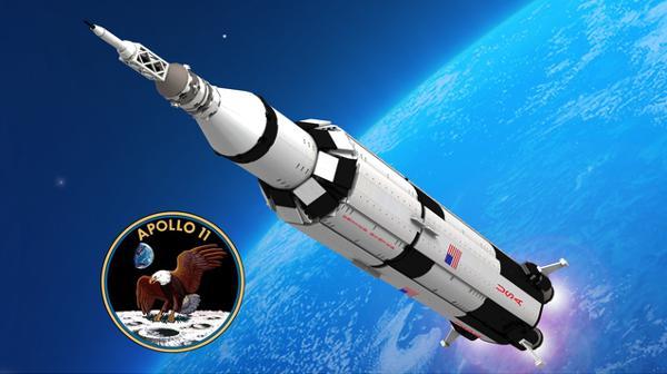 Apollo 11 Saturn-V Lego Ideas