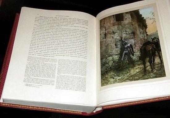 Don Quijote de la Mancha primera edición ilustrada Montaner y Simón