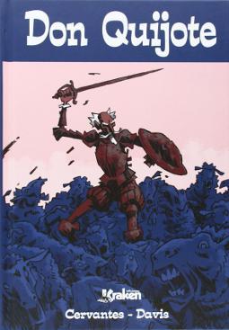 Don Quijote edición en novela gráfica