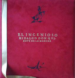 El Ingenioso Hidalgo Don Quijote de la Mancha ilustrado por Salvador Dalí