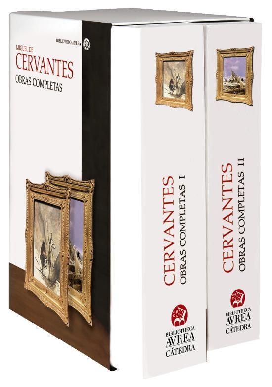 La obra completa de Cervantes