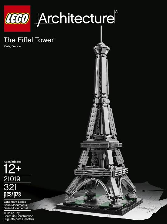 La Torre Eiffel en LEGO Architecture