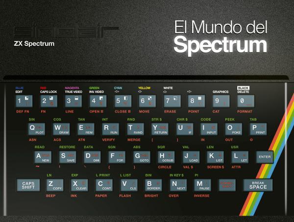 Portada de El mundo del Spectrum