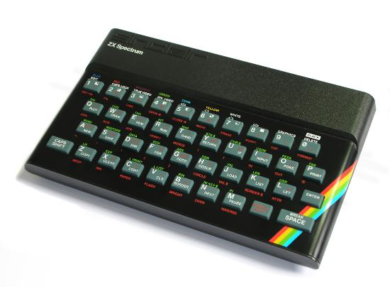 Fotografía de ZX Spectrum