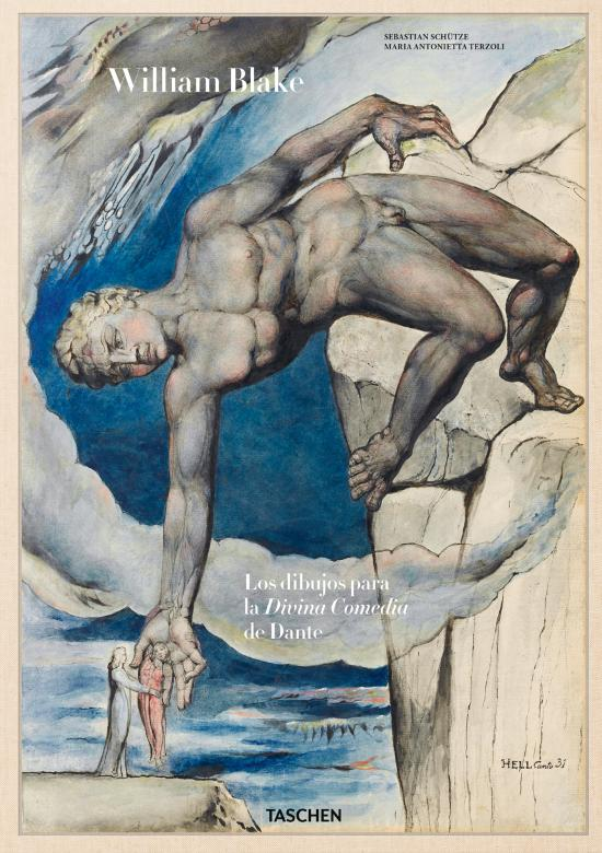 William Blake dibujos para La Divina Comedia de Dante