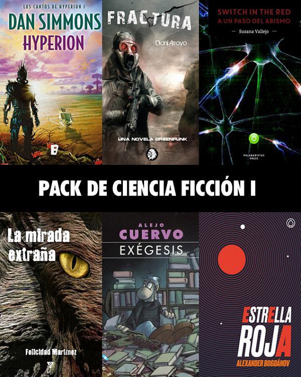 Pack de ciencia ficción