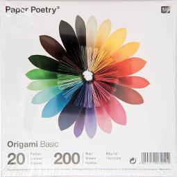 Papel multicolor para hacer papiroflexia