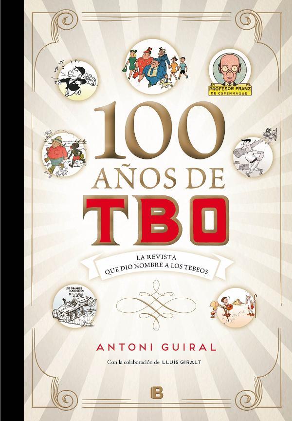 Portada de 100 años de TBO