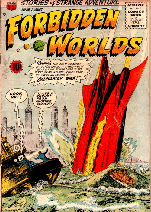 Portada Forbidden Worlds