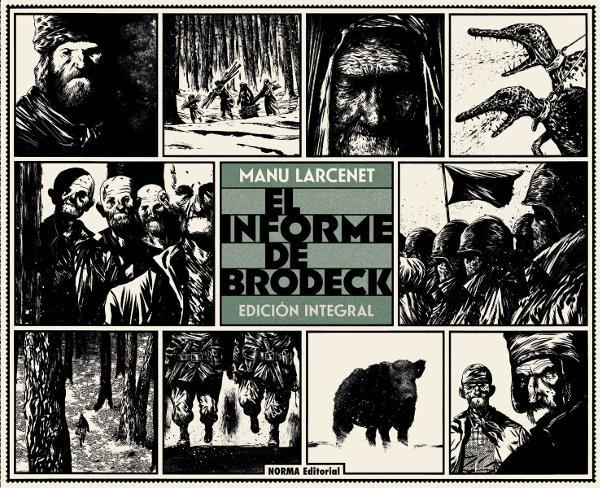 Portada de El Informe de Brodeck