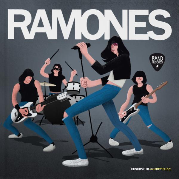Portada de Ramones