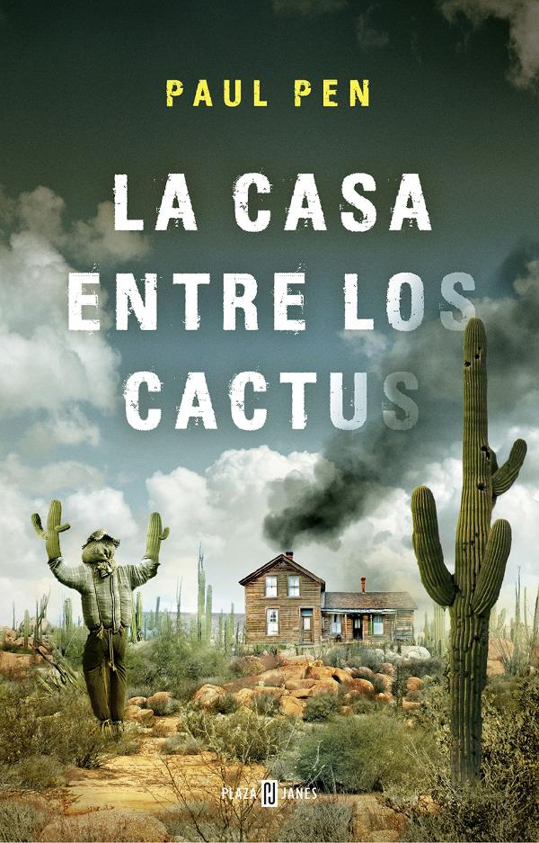 Portada de La casa entre los cactus