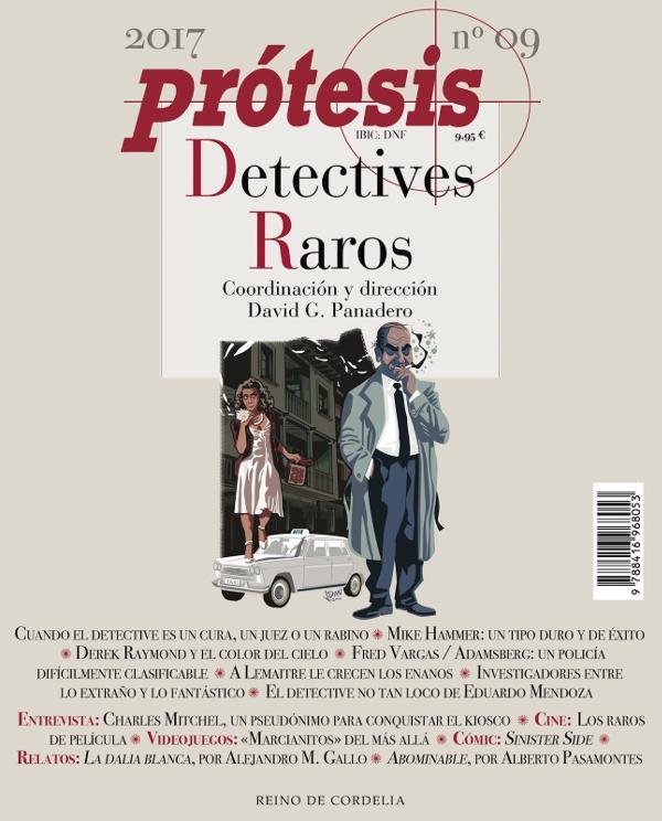 Portada de Prótesis Detectives Raros