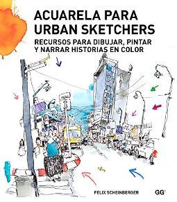 Portada de Acuarela para Urban Sketchers