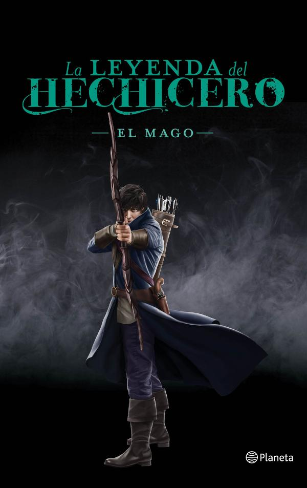 Portada de La leyenda del hechicero. El mago