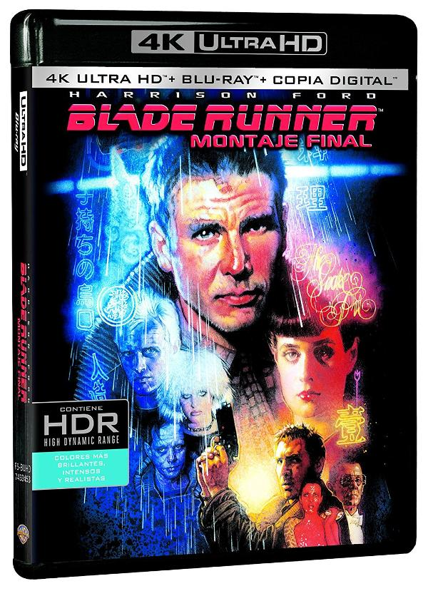 Portada de Blade Runner 4K