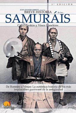 Portada de Breve historia de los samuráis