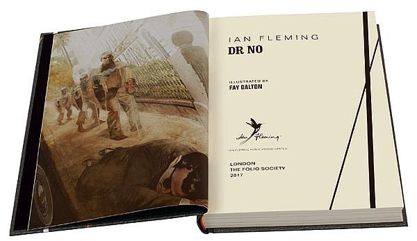 Interior Dr. No en The Folio Society