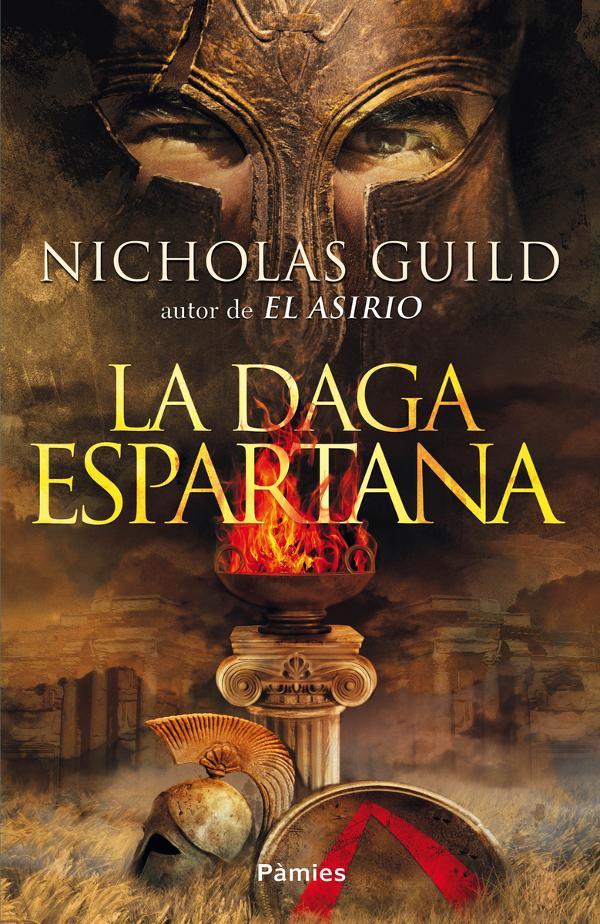 Portada de La daga espartana