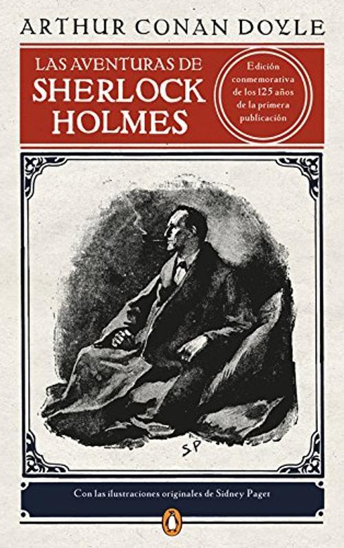 Portada de Las aventuras de Sherlock Holmes (edición ilustrada)