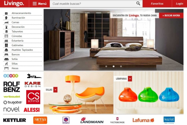 Portal Livingo venta de muebles