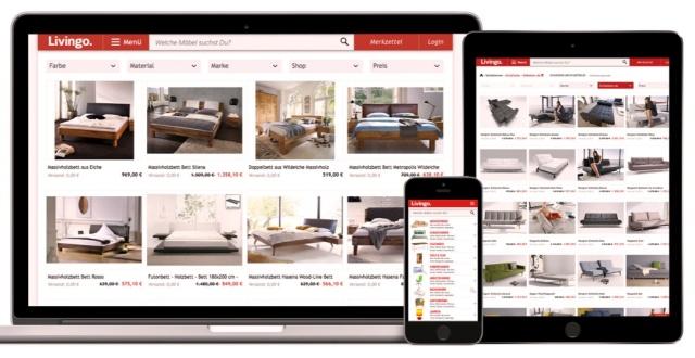 Portal Livingo diseño web adaptable