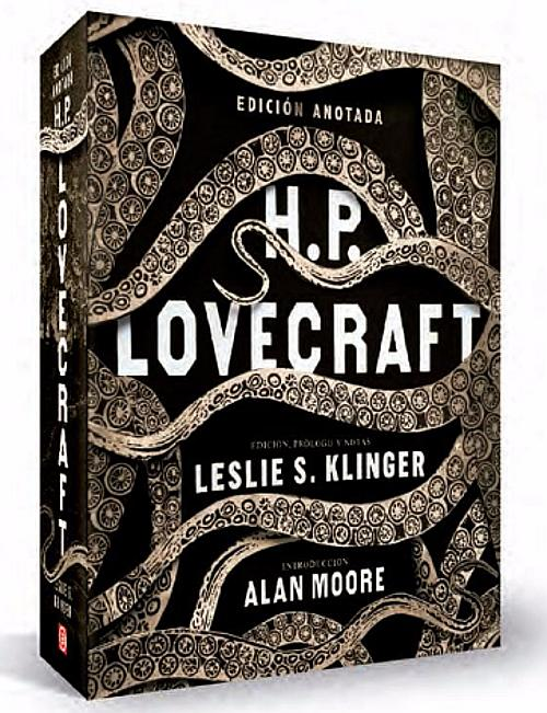 Portada de Lovecraft edición anotada