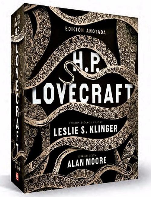 Portada de Lovecraft edición anotada