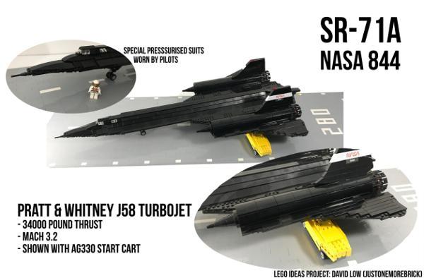 SR-71 Lego Ideas