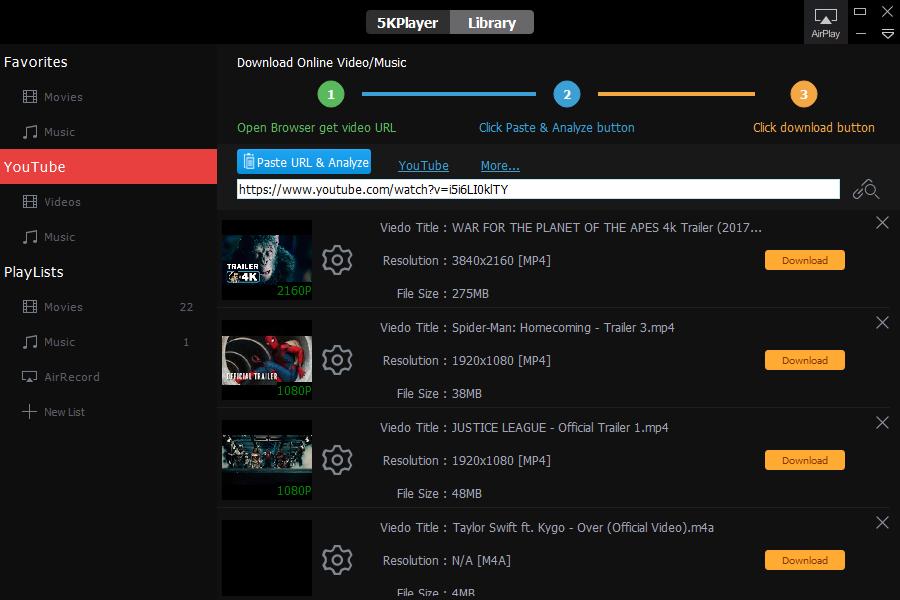 reproductor de musica y video para pc windows 10