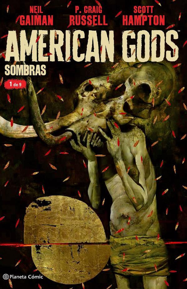 Portada de American Gods cómic