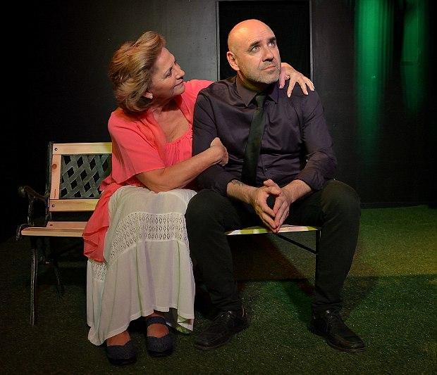 Foto obra de teatro Conversaciones con mamá