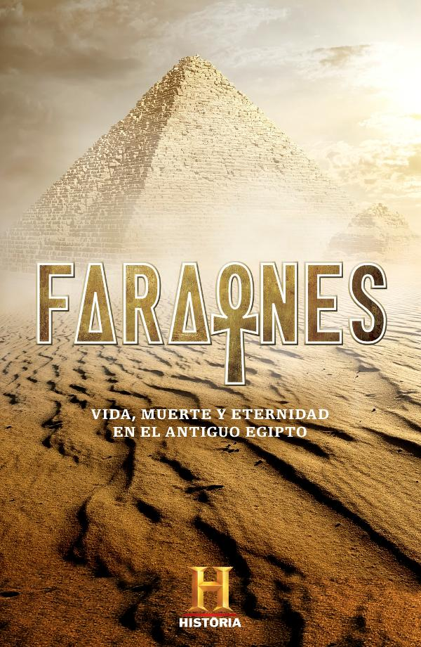 Portada de Faraones en Canal Historia