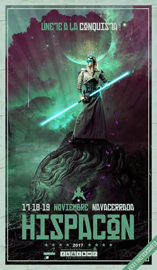 Cartel de la Hispacón Navacerrada 2017