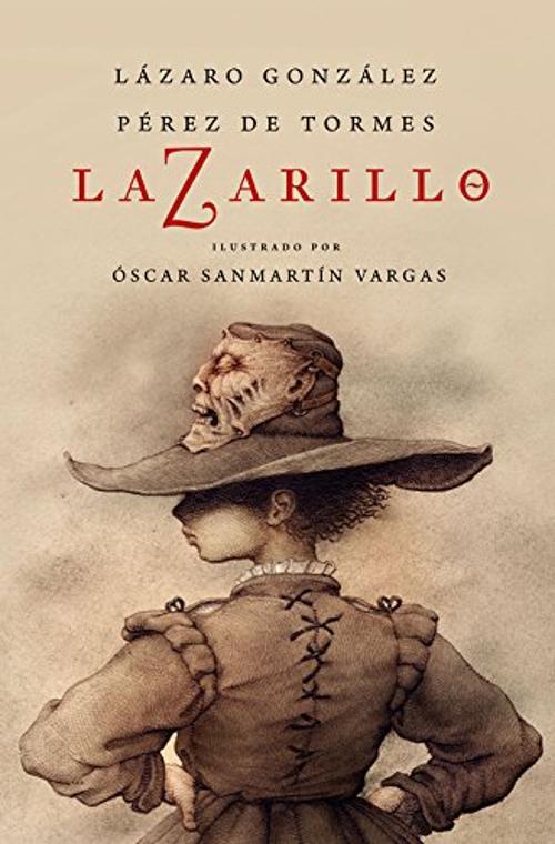 Portada de Lazarillo Z edición ilustrada