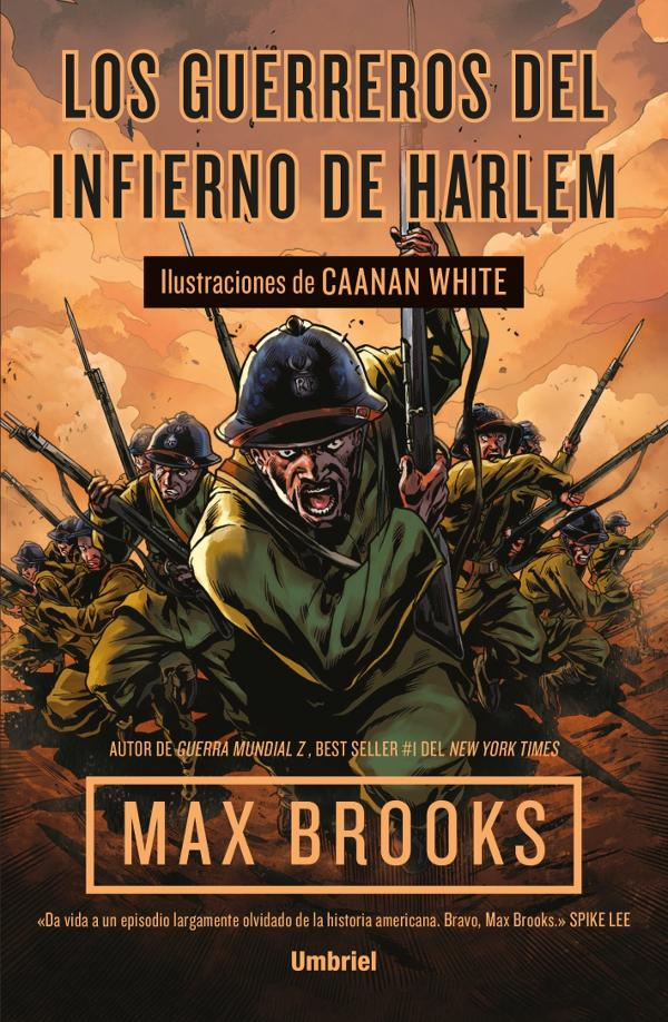 Portada de Los guerreros del infierno de Harlem